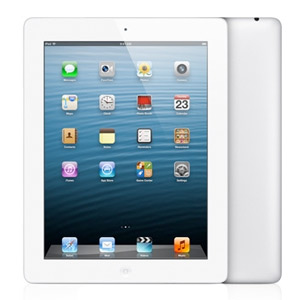 iPad 4Gen white Wi-Fi